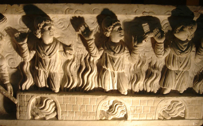 Three Youths in the Fiery Furnace