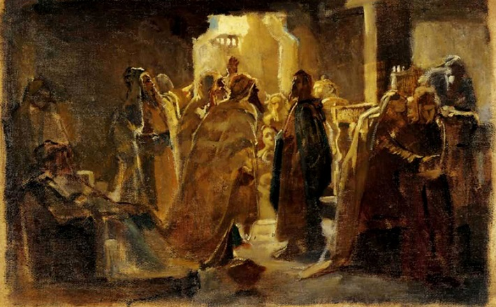 Christ in the Synagogue
