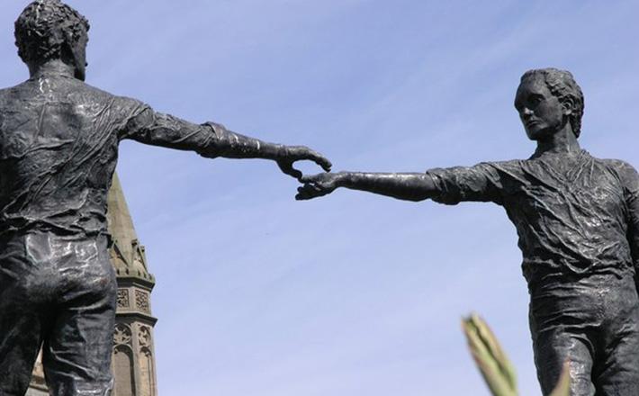 Hands Across the Divide