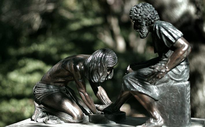 Jesus Washing St. Peter's Feet