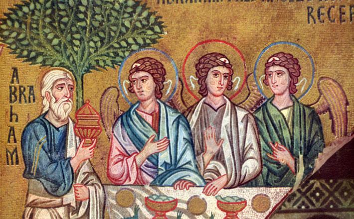 Visit of Three Angels