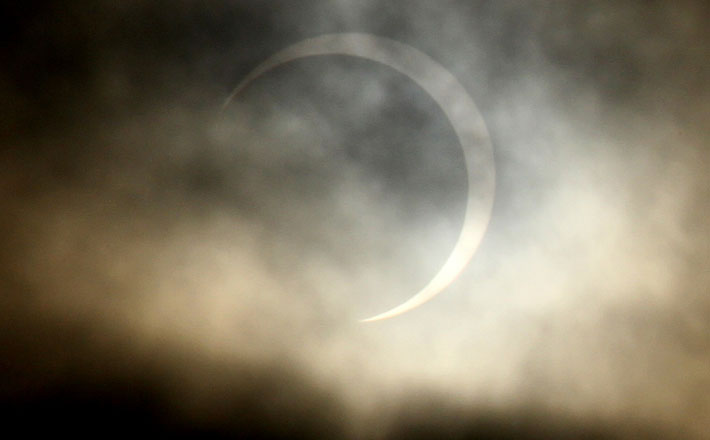 Annular Solar Eclipse 2