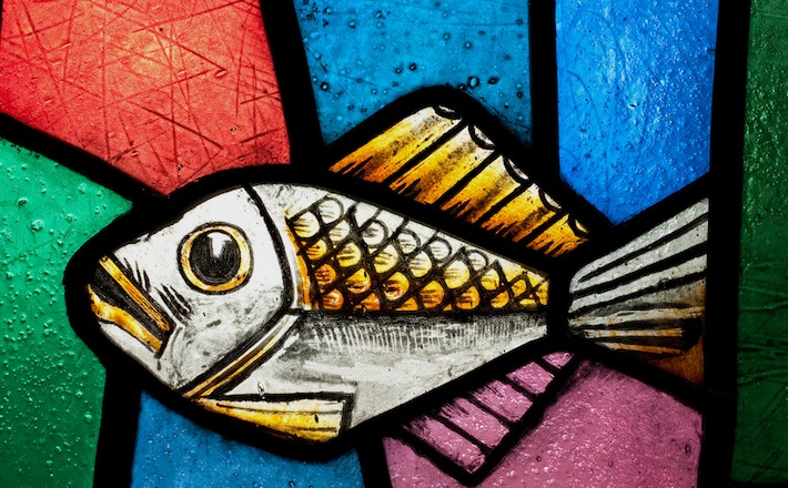 Coventry Cathedral - Fish