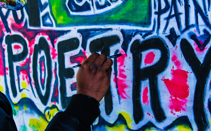 graffiti rendering of the word